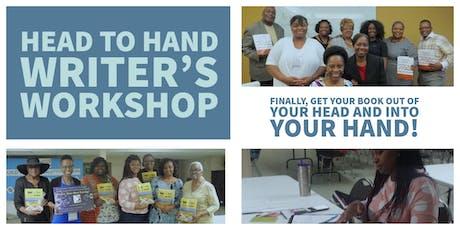 Head to Hand Writer's Workshop - 11/9/19 tickets
