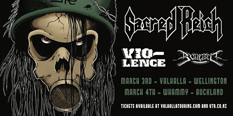 Sacred Reich + Vio-Lence - Auckland tickets