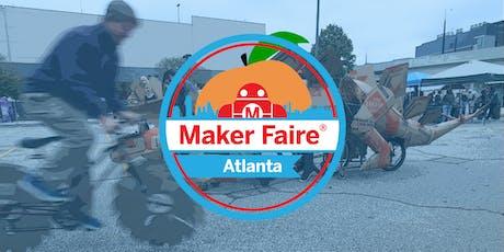Maker Faire Atlanta 2019 tickets
