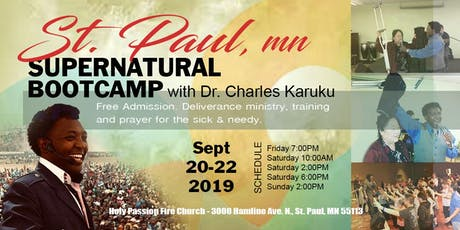 St. Paul MN Supernatural Bootcamp tickets