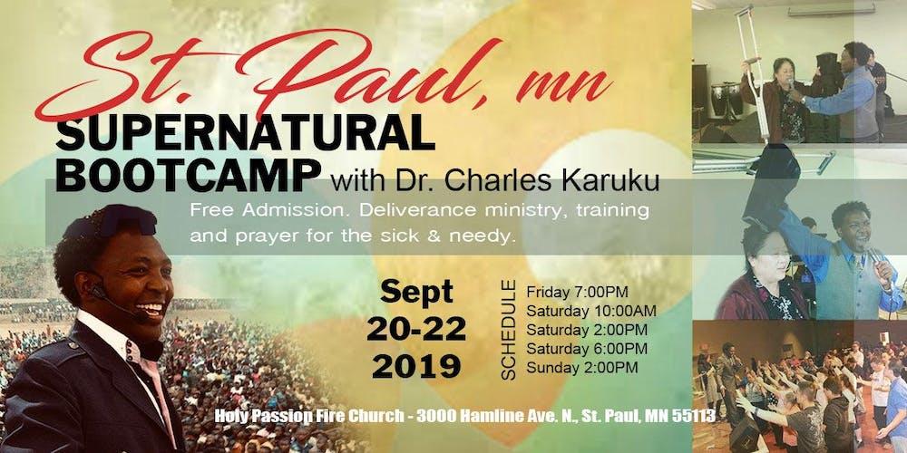 St  Paul MN Supernatural Bootcamp Tickets, Fri, Sep 20, 2019