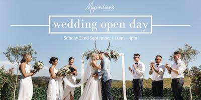 Maximilian's Wedding Open Day