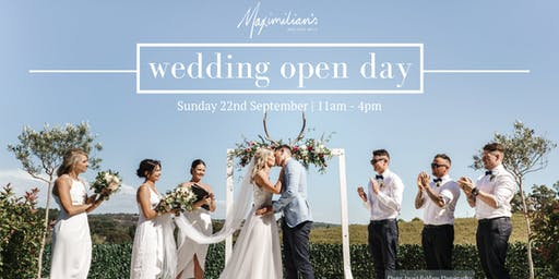 Maximilian's Wedding Open Day