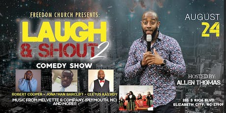 Laugh & Shout Comedy Show tickets
