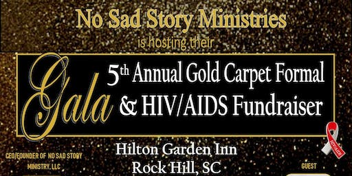 5th Annual Gold Carpet Formal Fundraiser Gala in Support of HIV/AIDS
