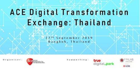 ACE Digital Transformation Exchange: Thailand tickets