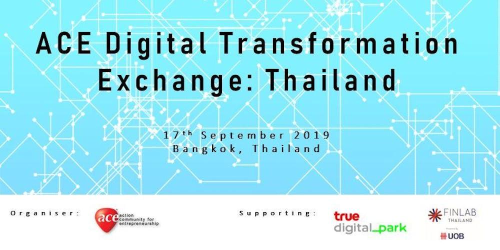 ACE Digital Transformation Exchange: Thailand Tickets, Tue 17 Sep