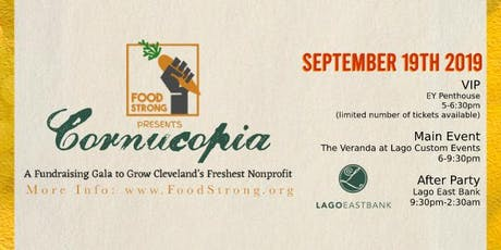 Cornucopia: A Fundraising Gala To Grow Cleveland's Freshest Nonprofit tickets