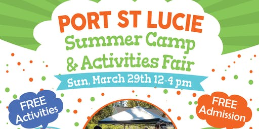 Port St Lucie Summer Camp Fair