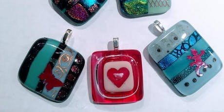 Make Fused Glass Pendants and Barrettes: Saturday Nov 2, 10:30am-12:30pm tickets