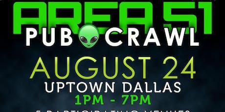 AREA 51 Pub Crawl Uptown Dallas tickets