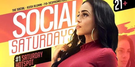 THE SOCIAL PRESENTS: Social Saturday tickets