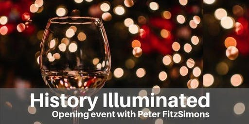 History Illuminated Opening Event with Peter FitzSimons