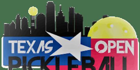 2019 Texas Open Pickleball Championship tickets