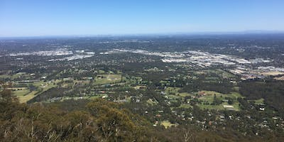 Mt Dandenong Circuit hike on the 22nd of Nov, 2019