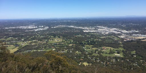 Mt Dandenong to Burkes Lookout return hike on the 26th of Aug, 2019