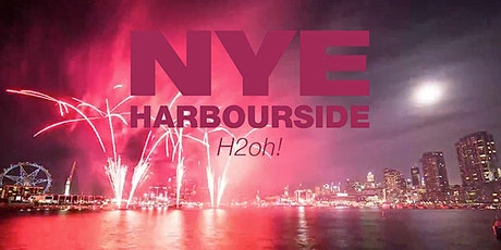 NYE H2oh Docklands Waterfront - unlimited Bar & Food  tickets