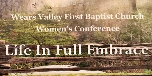 Wears Valley FBC Women's Conference Life In Full Embrace