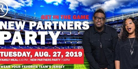 dR New Partner Party tickets