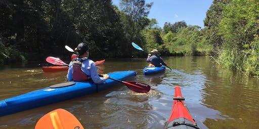 Biodiversity Month Kayak Tour-Cooks River