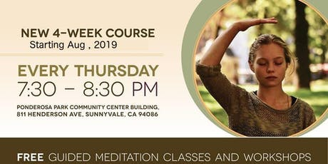 Free 4 Week Meditation Course in Sunnyvale tickets