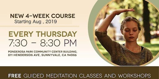 Free 4 Week Meditation Course in Sunnyvale
