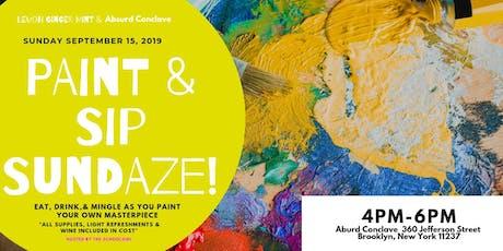 Paint & Sip Sundaze tickets