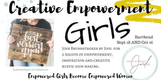 GIRLS NIGHT - Creative Empowerment Series(Barrhead)