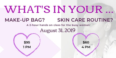 What's in your makeup bag?.. need a skincare routine? tickets