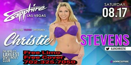 Sapphire Las Vegas Gentlemans Club (Christie Stevens) tickets