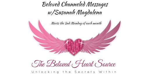 Beloved Channeled Messages w/Susanah Magdalena