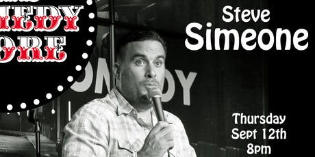 Steve Simeone - 8pm tickets
