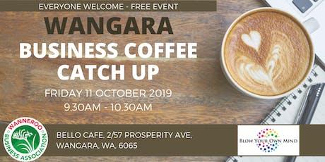 Free Business Coffee Catch Up - Wangara tickets