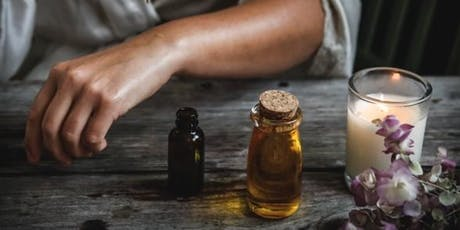 Make your own natural oil perfume tickets