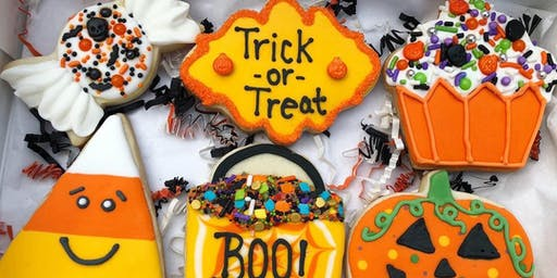 Cookie Decorating: Halloween Sugar Cookies at Fran's Cake and Candy Supplies