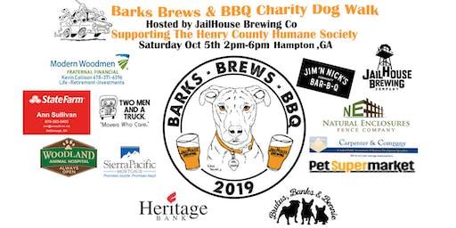 Barks Brews & BBQ Charity Dog Walk