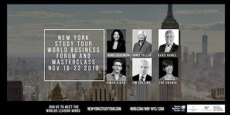 NEW YORK STUDY TOUR FOR BUSINESS INNOVATION & LEADERSHIP tickets