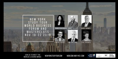 5 DAY, NEW YORK STUDY TOUR FOR BUSINESS INNOVATION & LEADERSHIP- CLOSED