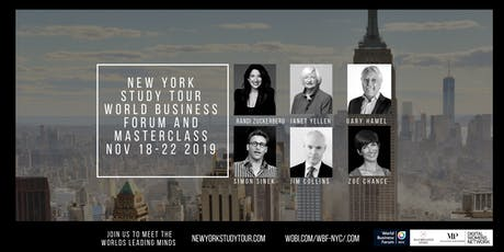 5 DAY, NEW YORK STUDY TOUR FOR BUSINESS INNOVATION & LEADERSHIP tickets