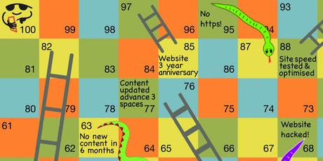 SEO Snakes and Ladders  tickets