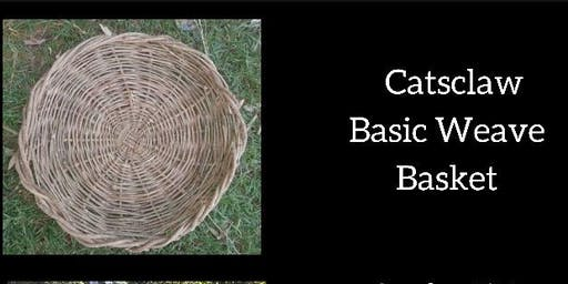 Catsclaw basic weave basket