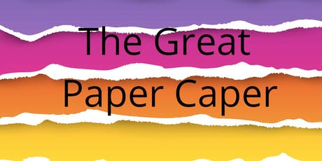 The Great Paper Caper Tin Can Bay tickets