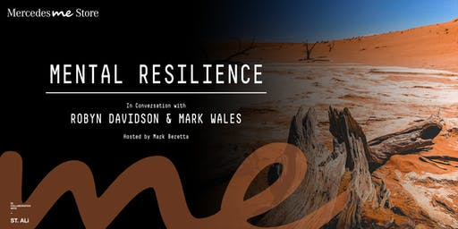 Mental Resilience - In Conversation with Robyn Davidson & Mark Wales