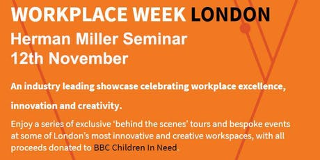 Workplace settings and the experience of visibility - A Workplace Week event tickets