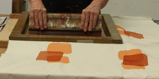 Screen printing weekend workshop