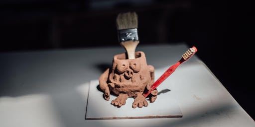 HOLIDAY FUN: Clay Monster Pots