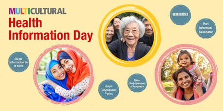 Multicultural Health Information Day: Wellbeing - Healthier You (Seminar in English) tickets