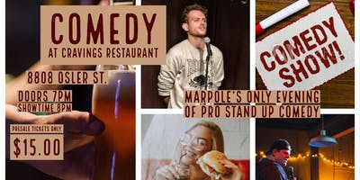 Big Laughs Comedy At Cravings: Roman Numeral 8