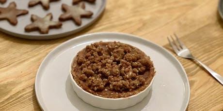 Weihnachtsbäckerei und Patisserie – vegan, glutenfrei, zuckerfrei Tickets