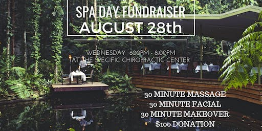 Spa Day Fundraiser
